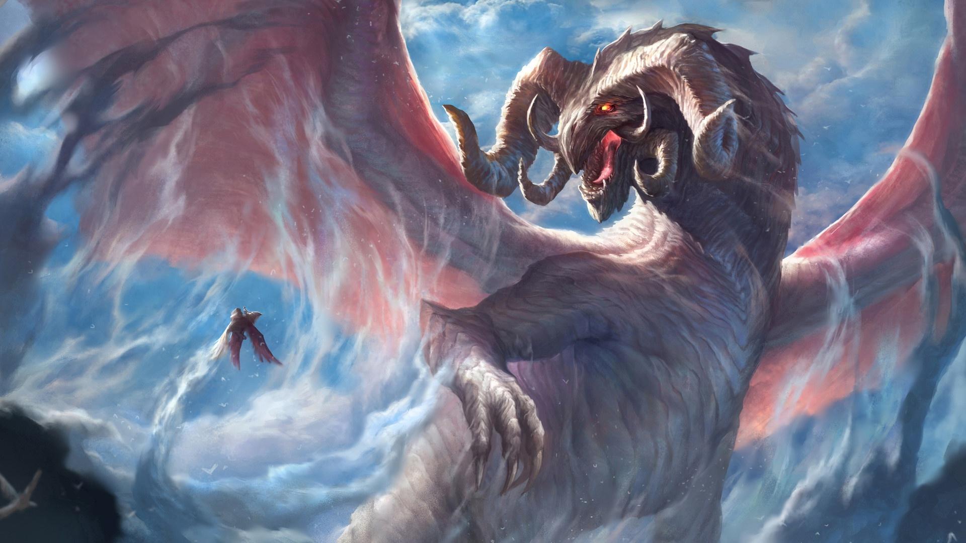 Zendha 1080p Full Hd Dragon Wallpaper