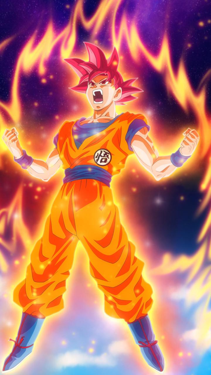 Dragon Ball Z 3d Wallpaper Download 720x1280 Goku Dragon Ball Super Anime Hd Moto G X Xperia