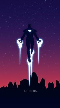 1080x1920 Iron Man Minimalism 2 Iphone 7,6s,6 Plus, Pixel ...