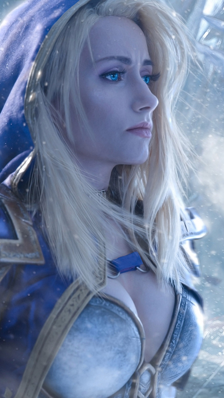 3d Hd Wallpapers Priestess 720x1280 Jaina Proudmoore Warcraft Cosplay Moto G X Xperia