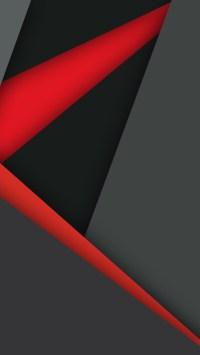 1440x2560 Material Design Dark Red Black Samsung Galaxy S6 ...