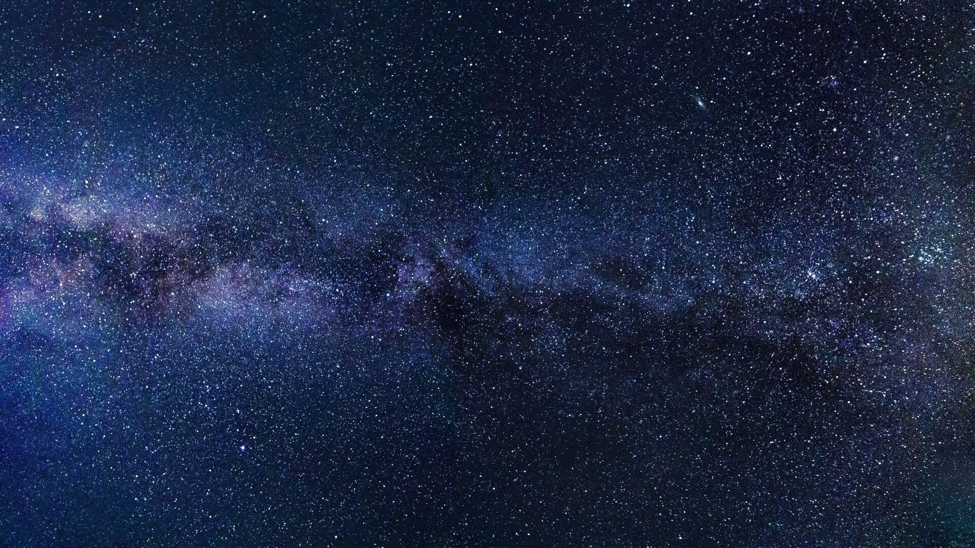 1920x1080 milky way starry