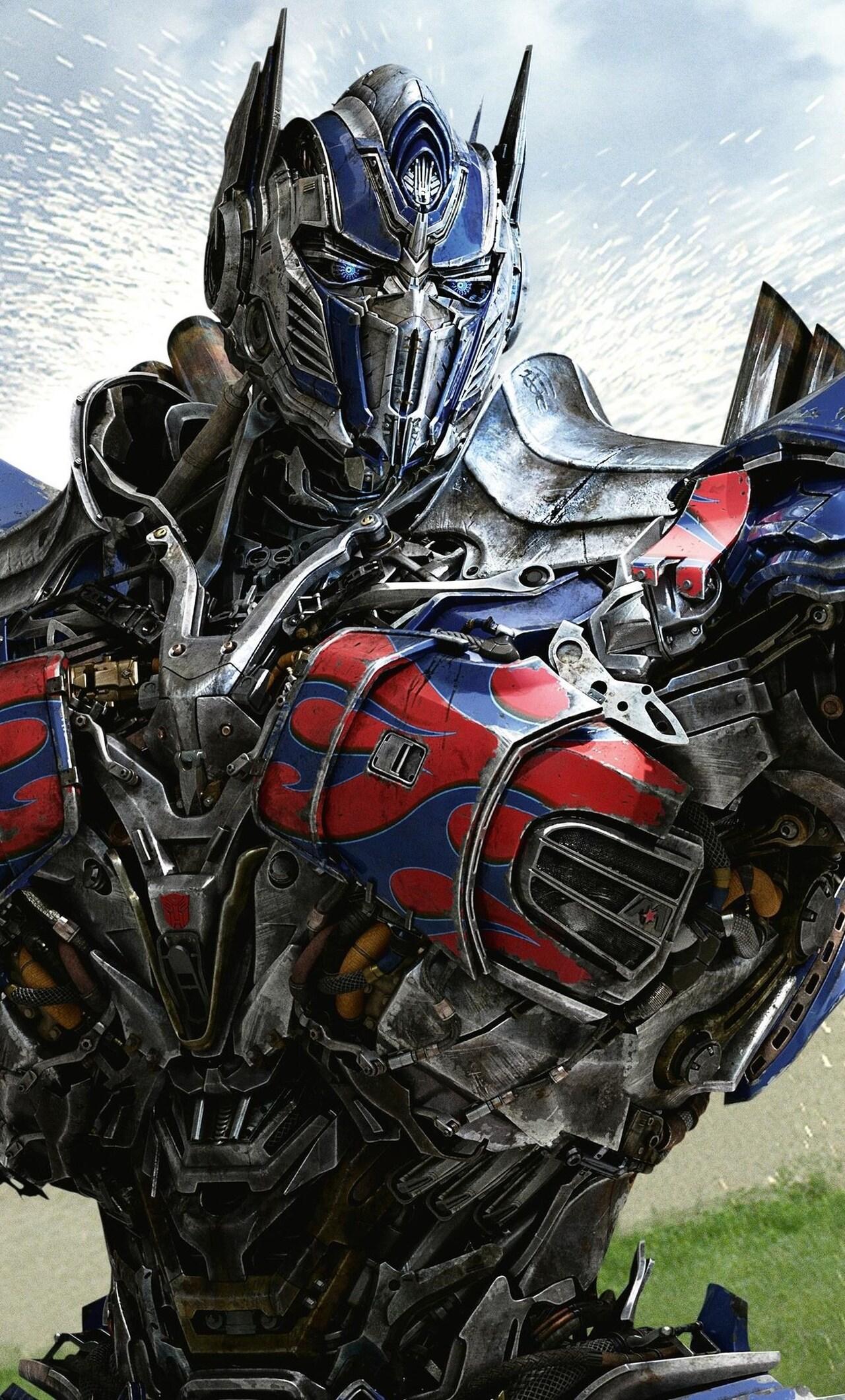 Beast 3d Wallpaper 1280x2120 Optimus Prime In Transformers 4 Age Of