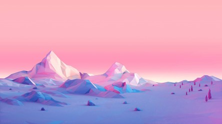 minimalist polygon mountains hd laptop wallpapers 1080p backgrounds resolution 4k minimalism low poly