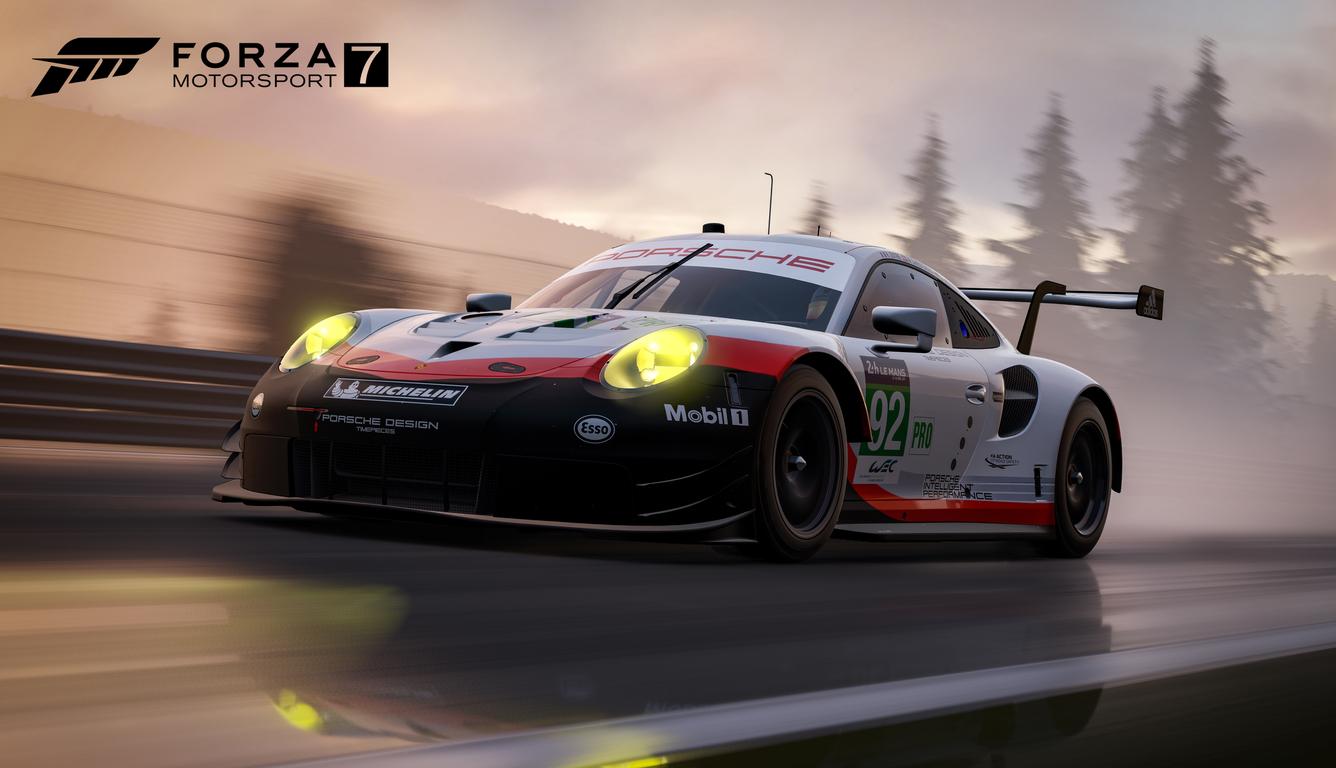 March 2018 Cute Full Screen Desktop Wallpapers 1336x768 Porsche 911 Forza Motorsport 7 4k Laptop Hd Hd 4k