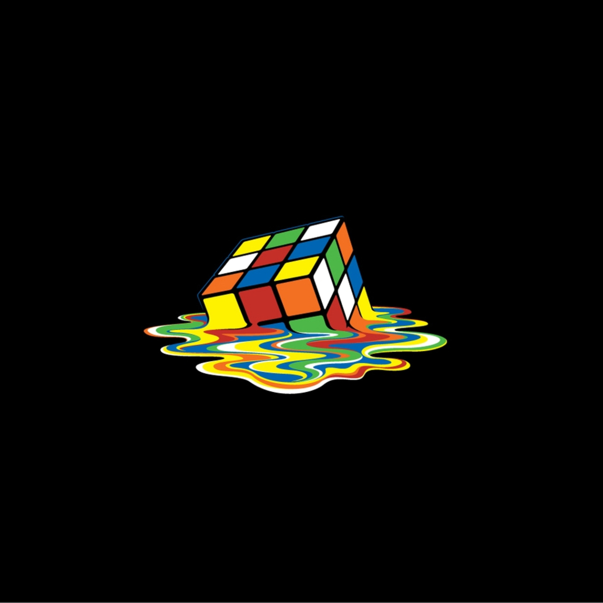 Mobile Wallpaper Cute Love 2048x2048 Rubiks Cube 2 Ipad Air Hd 4k Wallpapers Images