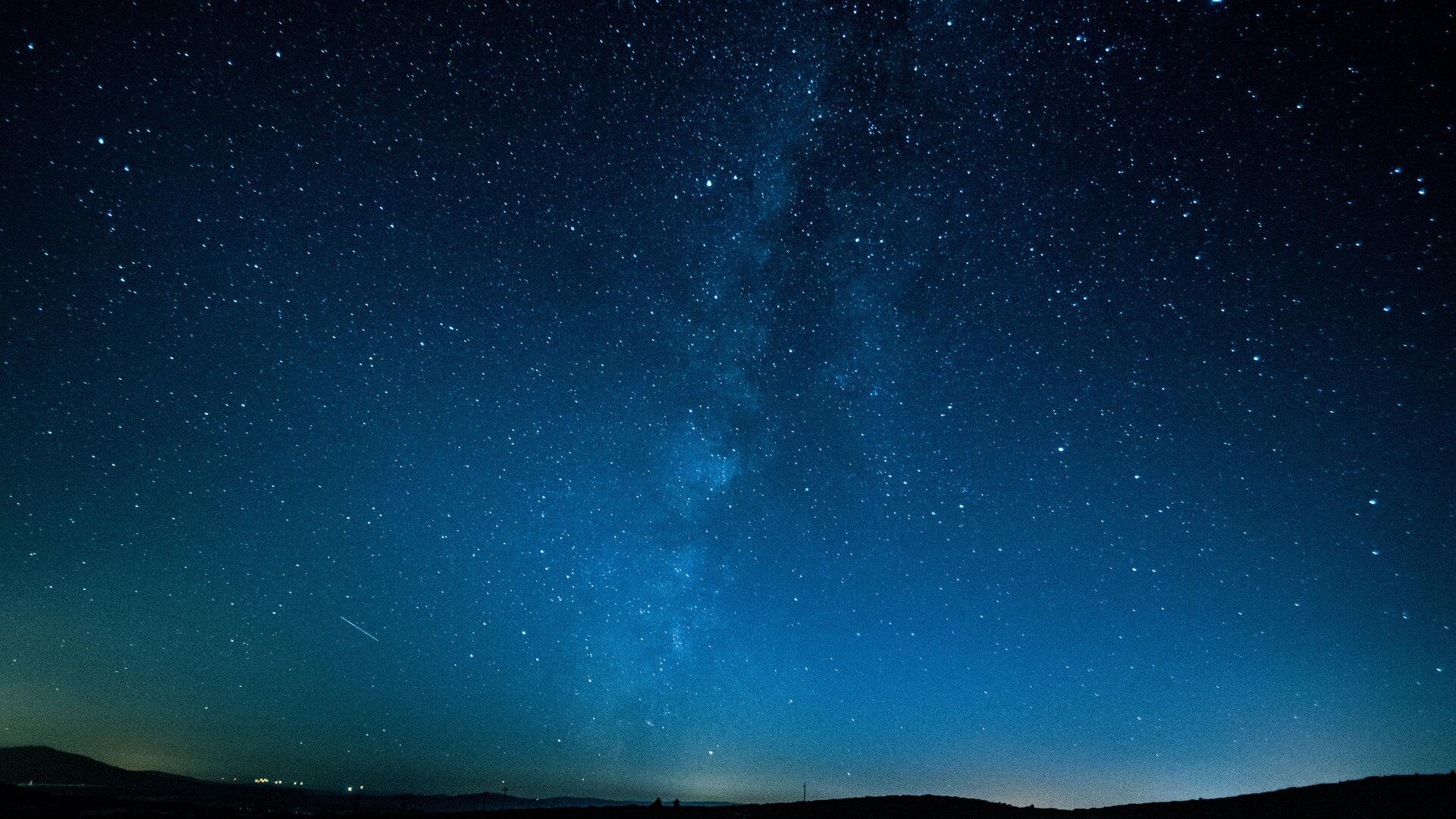 1920x1080 starry sky laptop
