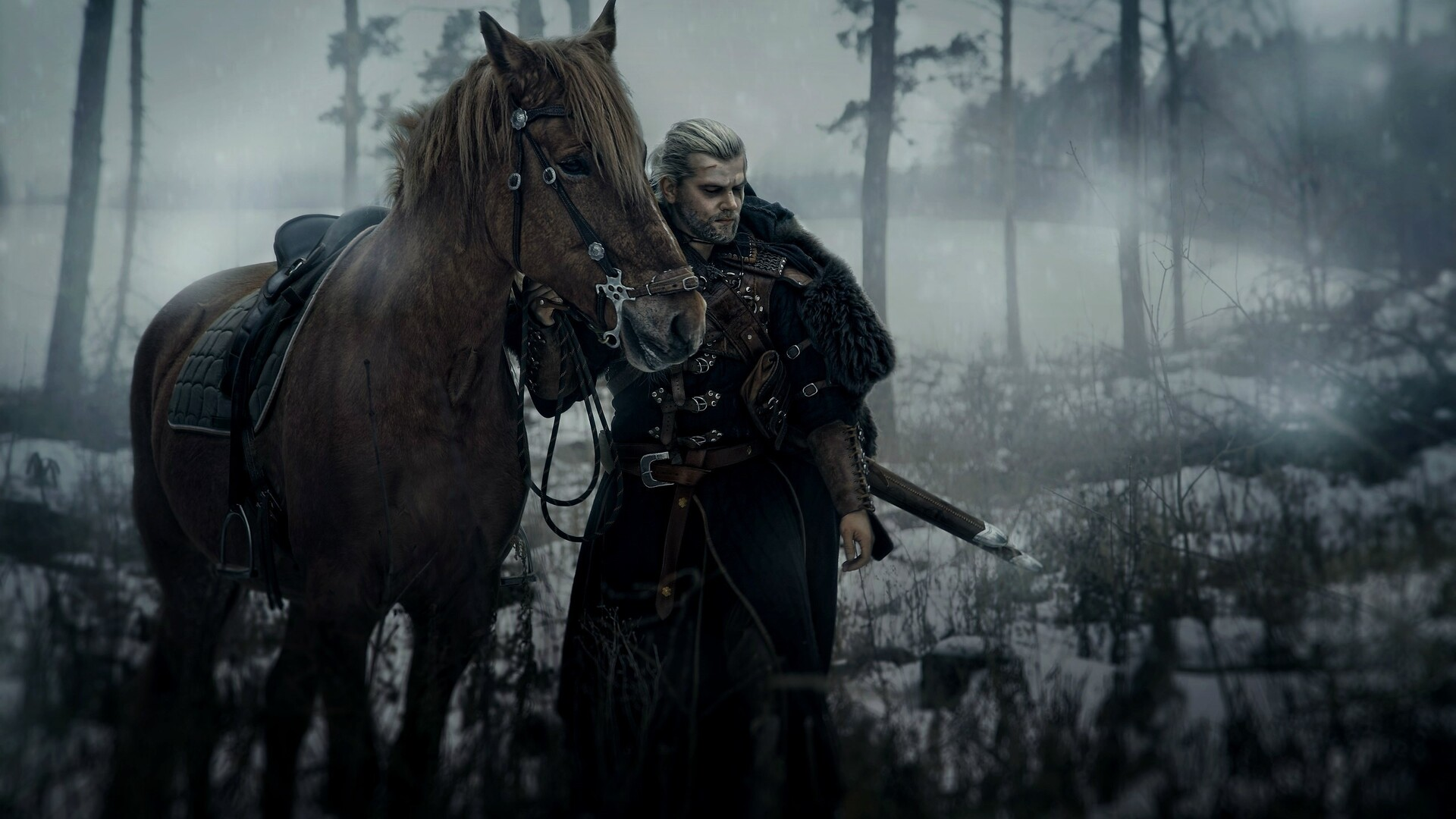 Girl Superheroes Wallpaper 1440p 1920x1080 The Witcher Geralt Of Rivia Cosplay Laptop Full