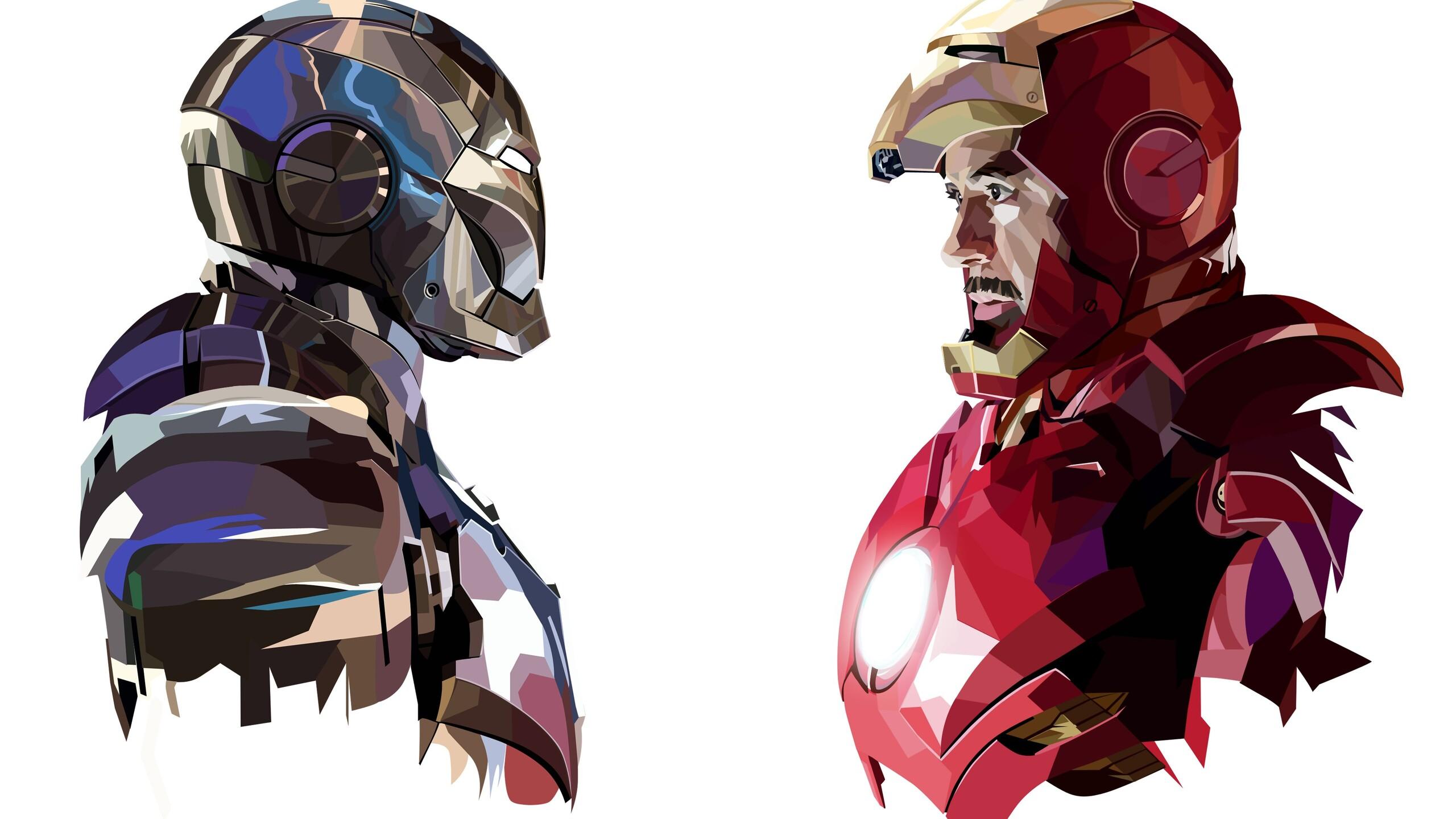 Iron Man 3d Wallpaper For Android 2560x1440 Tony Stark Iron Man Art 1440p Resolution Hd 4k