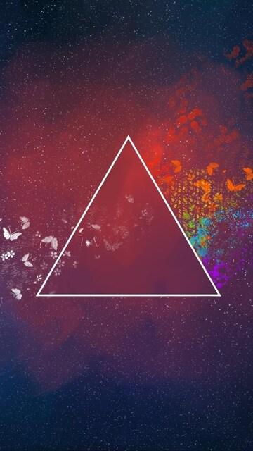 360x640 Triangle Art 360x640 Resolution Hd 4k Wallpapers