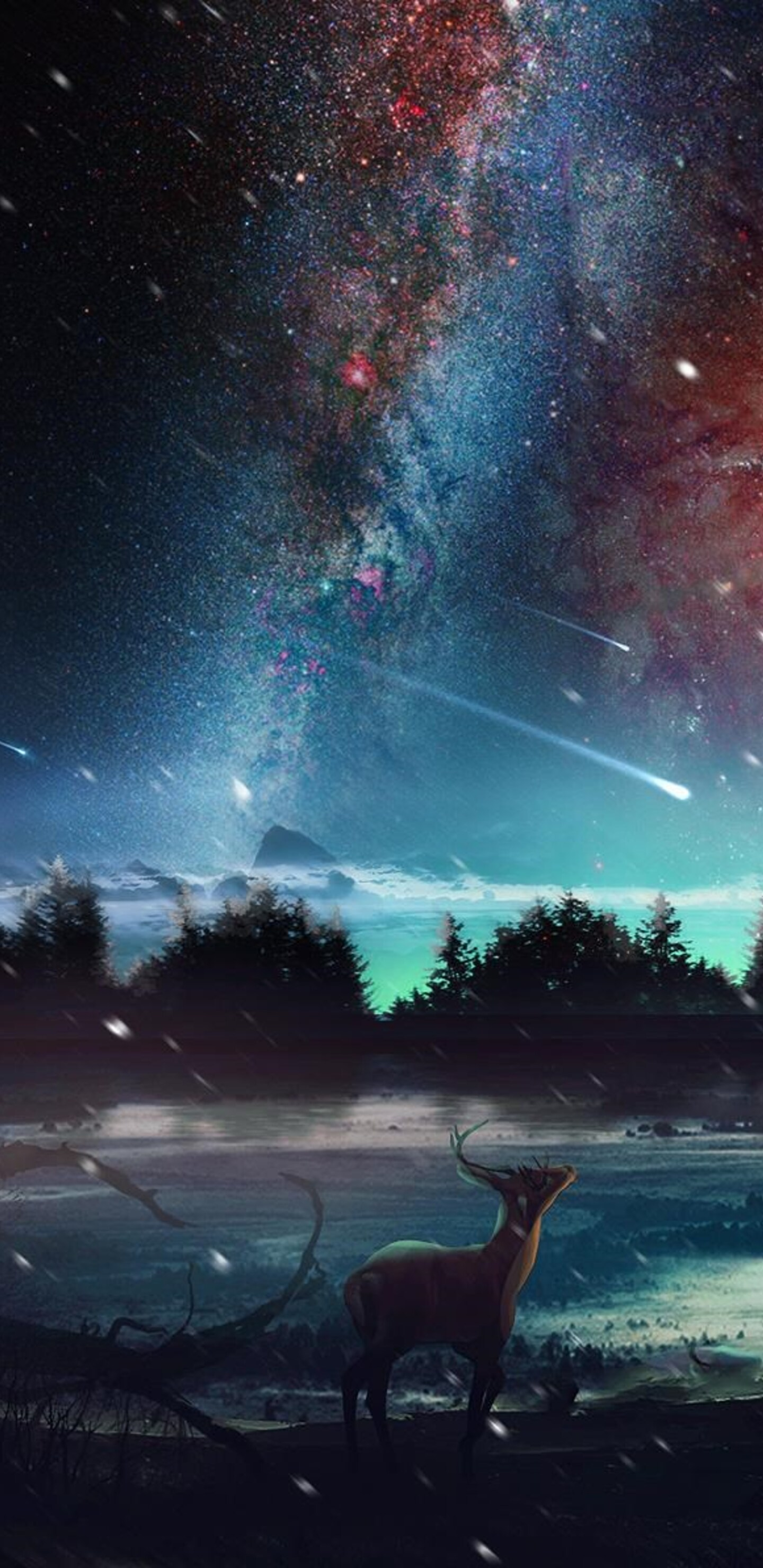 Samsung S8 3d Wallpaper Download 1440x2960 Universe Scenery Samsung Galaxy Note 9 8 S9 S8