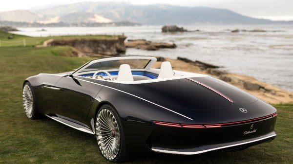 2560x1440 Vision Mercedes Maybach 6 Cabriolet 2017 Rear 1440p Resolution Hd 4k Wallpapers