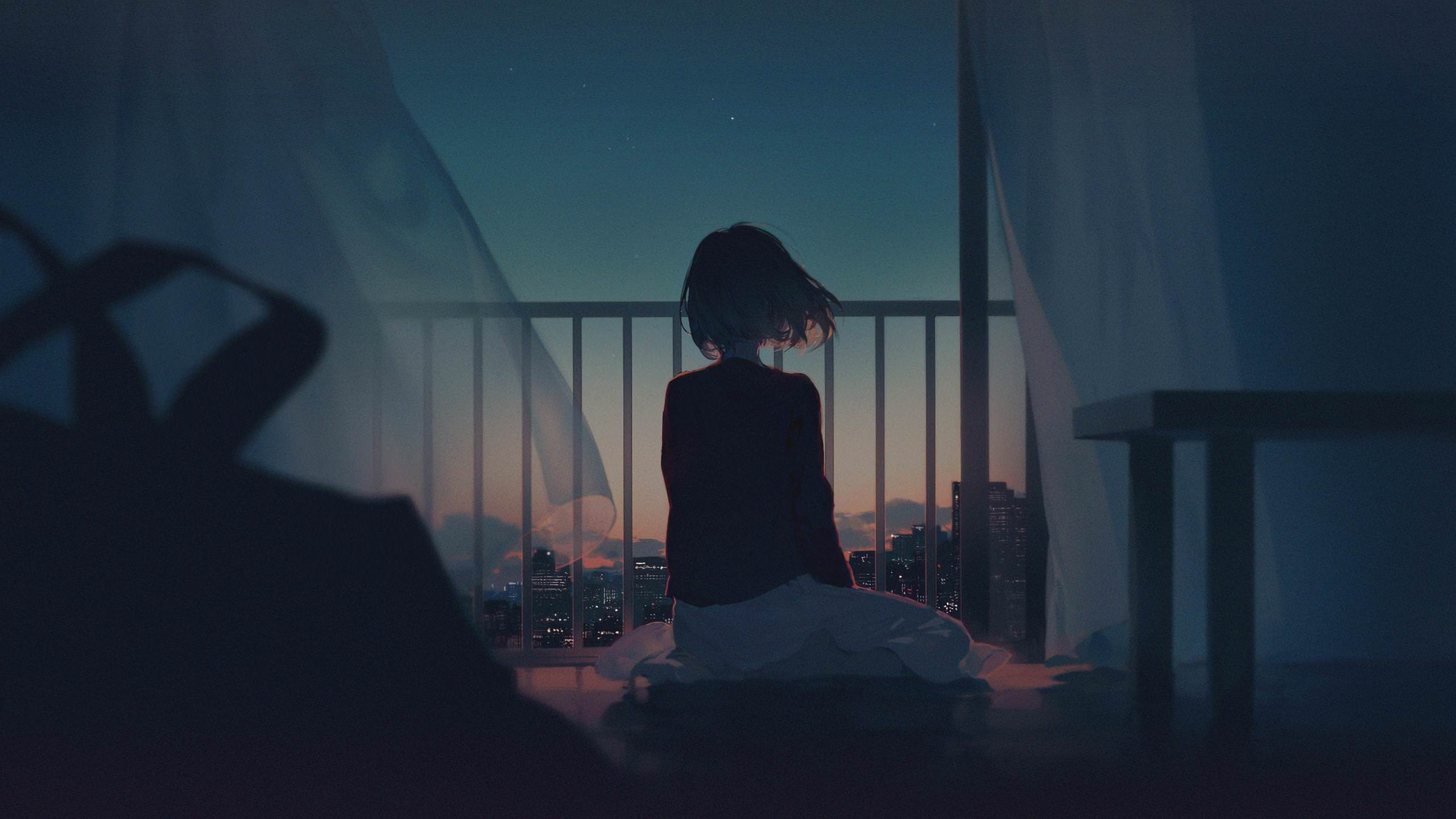 Image result for alone girl