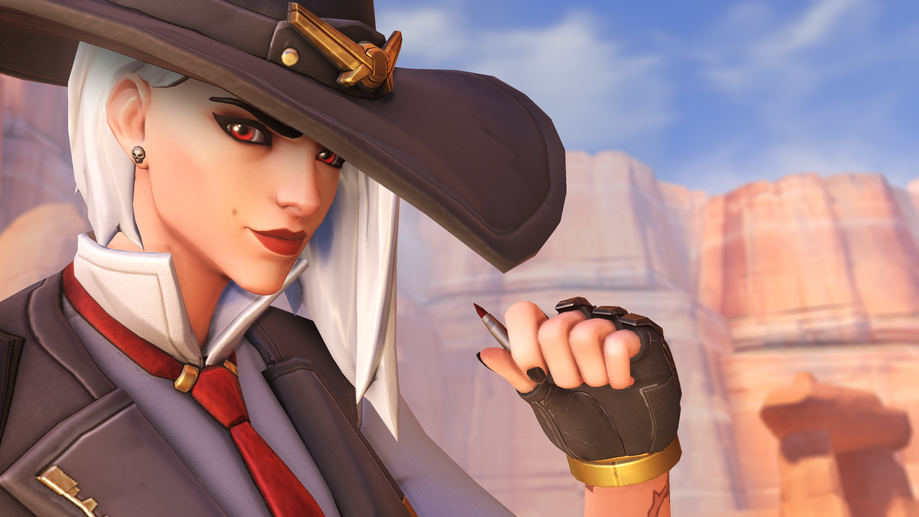 Fb Cute Wallpaper Ashe Overwatch 4k Hd Games 4k Wallpapers Images