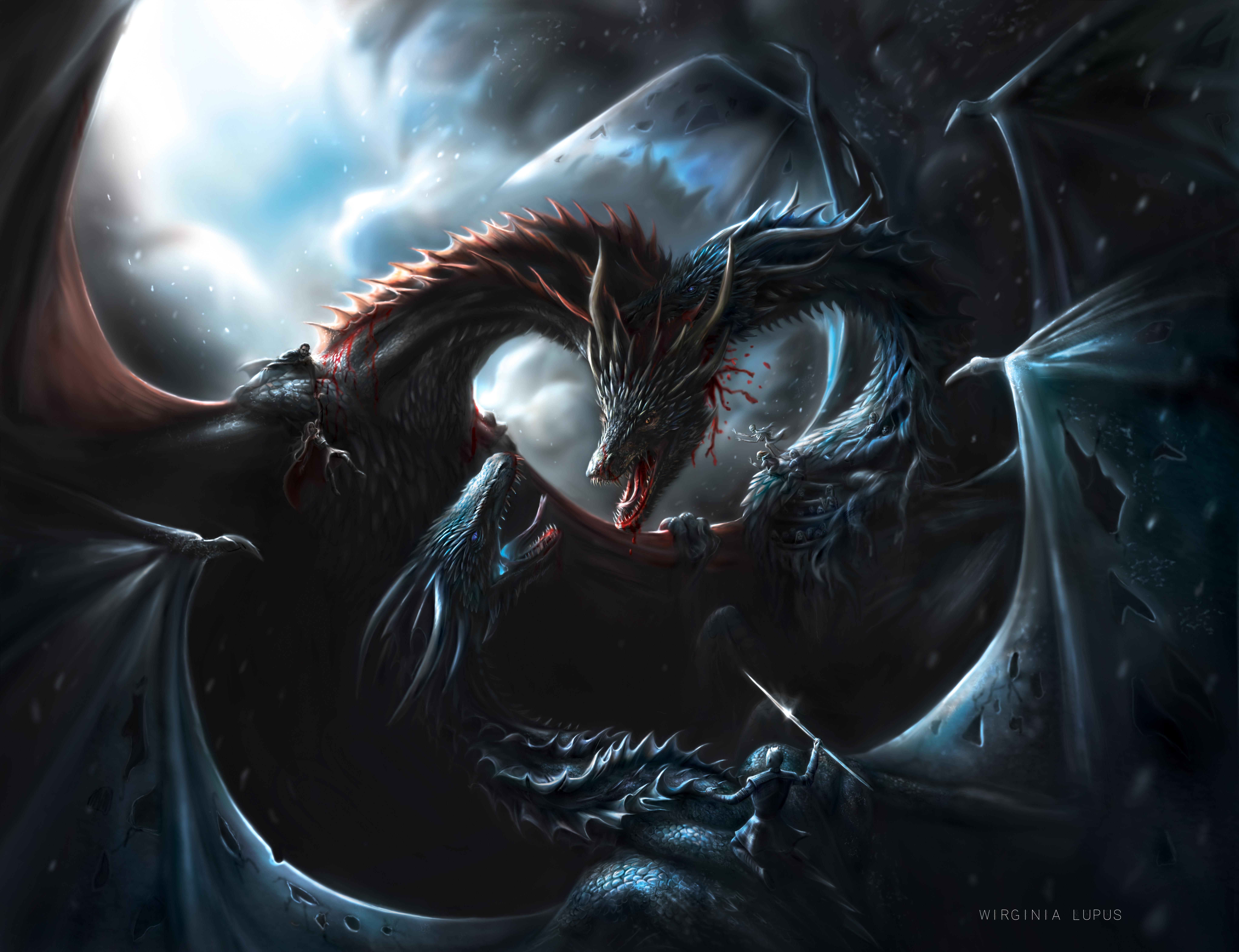 Game Of Thrones Dragons Desktop Wallpaper