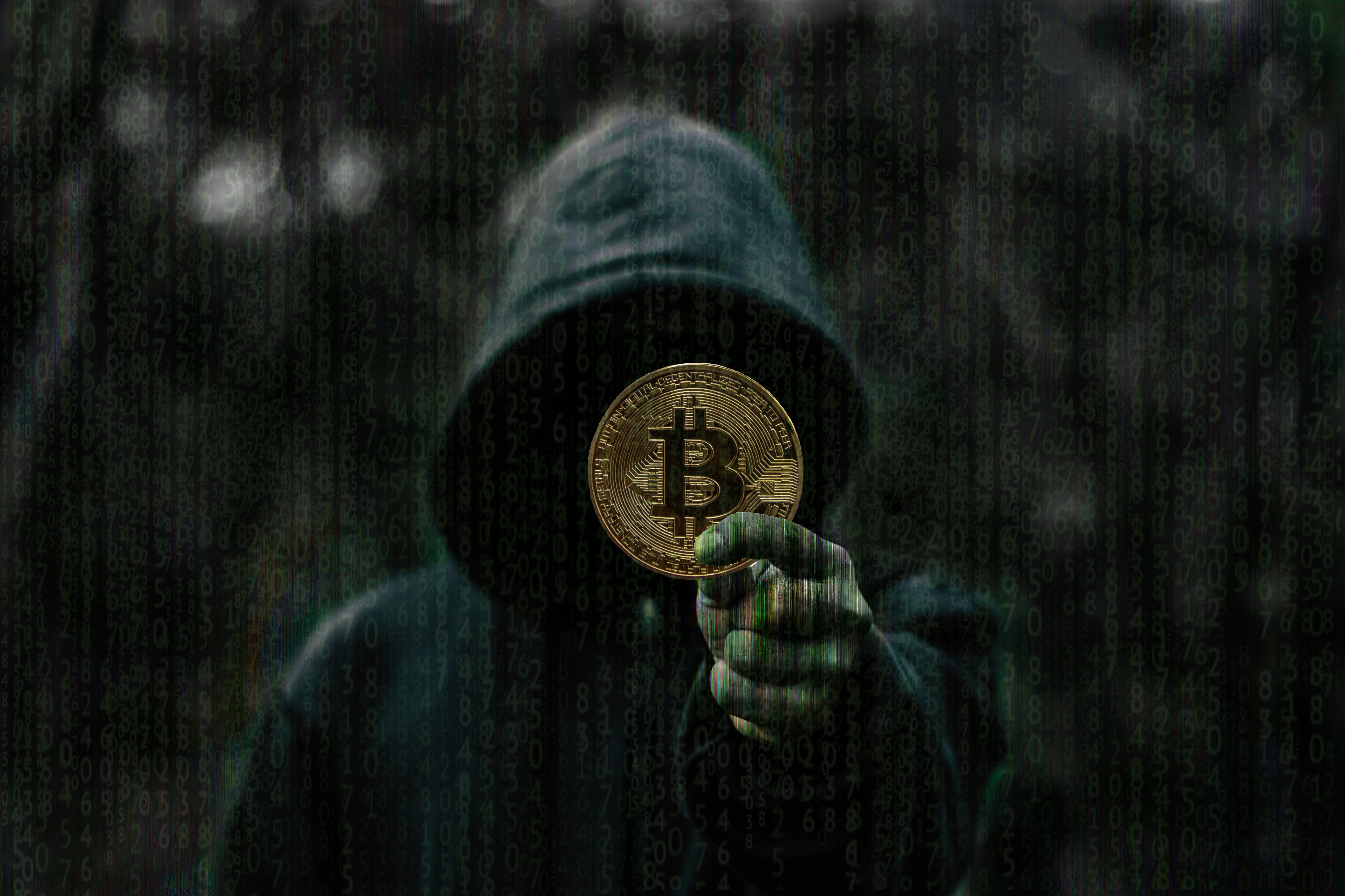 Hacker 3d Wallpaper Bitcoin Cryptocurrency 5k Hd Others 4k Wallpapers