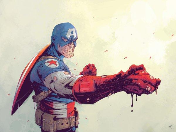 Cool Captain America Art