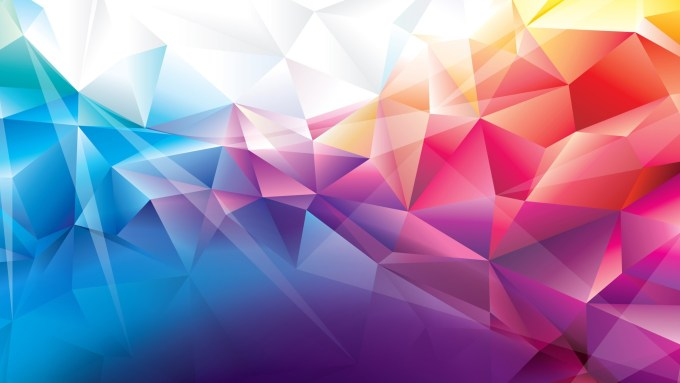 Colorful Polygons Hd Abstract K Wallpapers Images Backgrounds