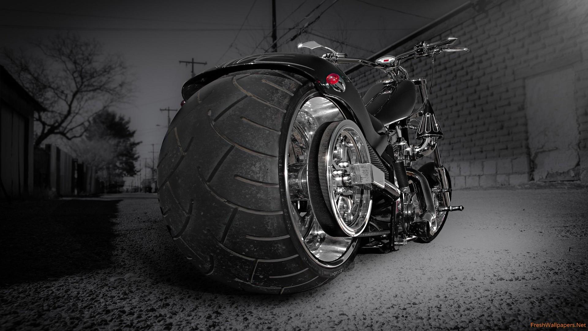 Cute Rat Wallpaper Hd 1366x768 Custom Chooper Wide Tyre Hd Bikes 4k Wallpapers Images