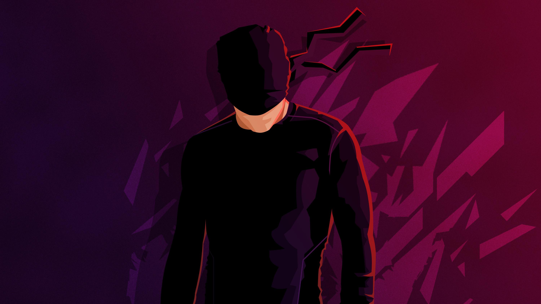 Daredevil Minimalism Hd HD Superheroes 4k Wallpapers