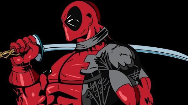 Deadpool Marvel Comics Art
