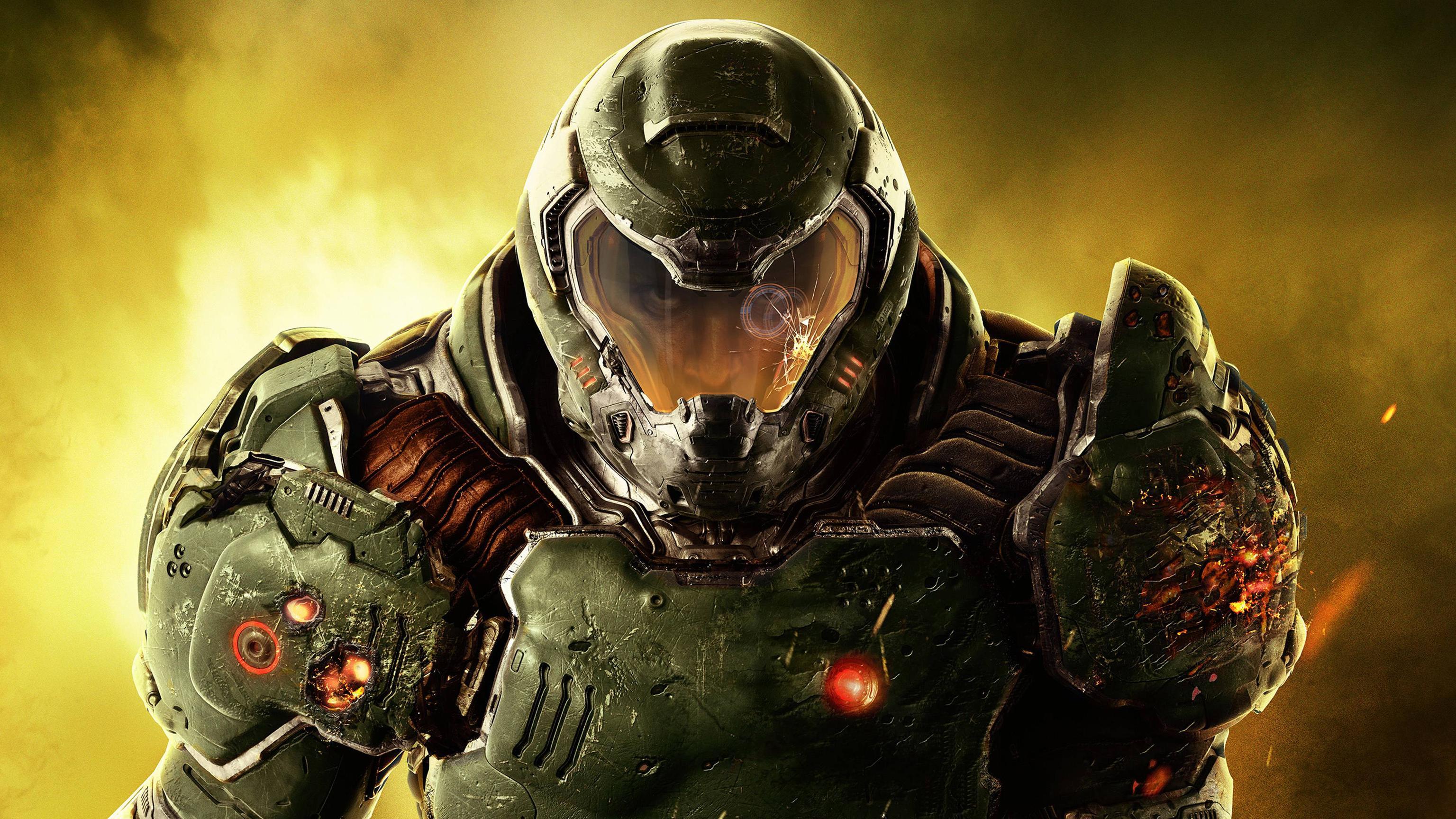 Doom 4 2016 Video Game, Hd Games, 4k Wallpapers, Images