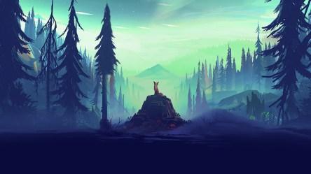 Fantasy Fox Landscape Tree HD Artist 4k Wallpapers