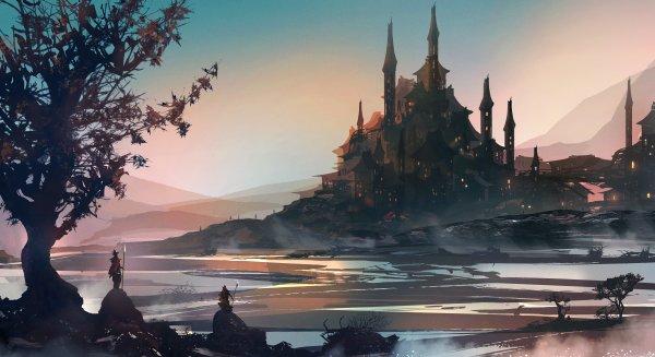 Fantasy Knight Art Background 5k Hd Artist 4k Wallpapers