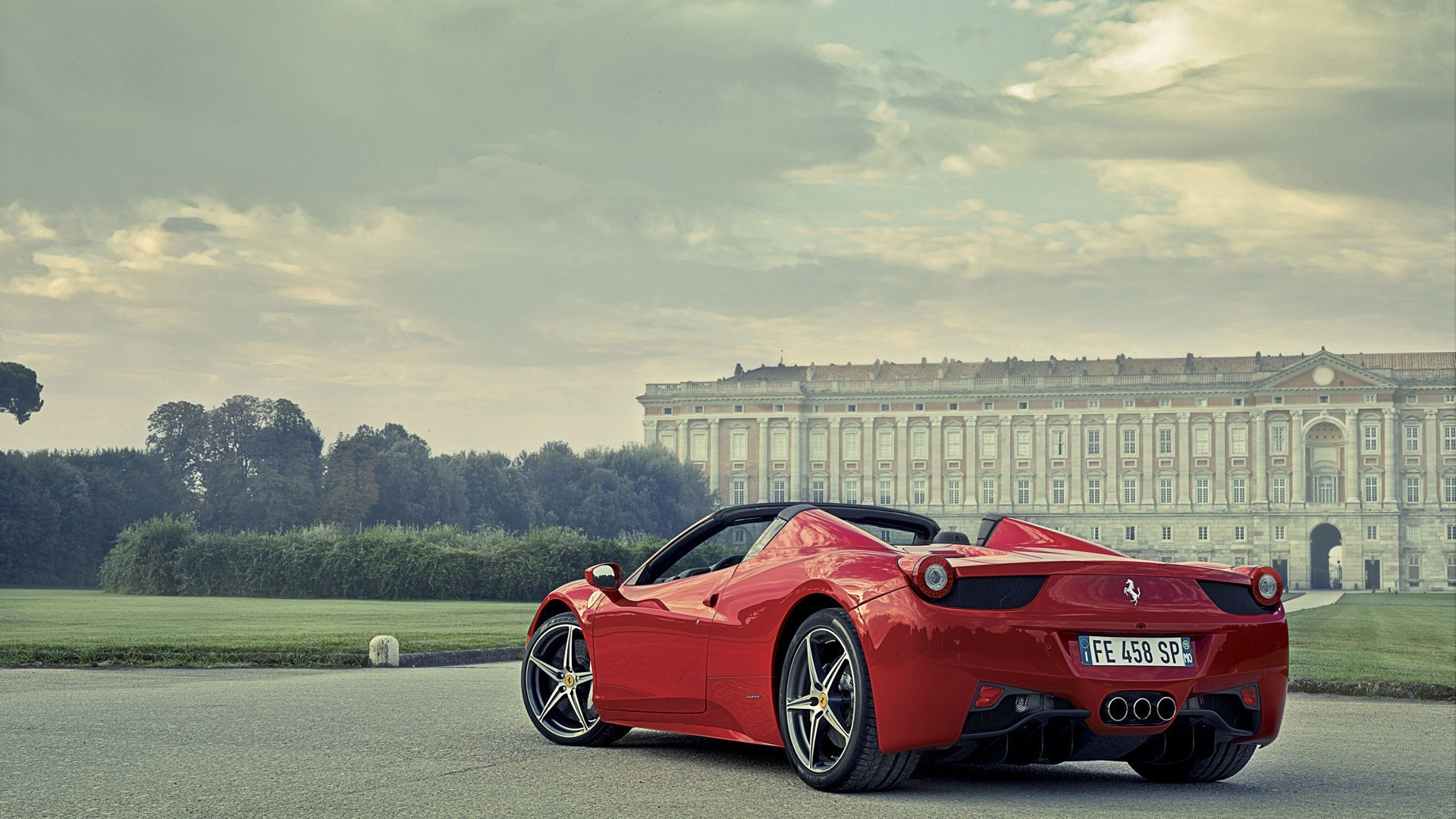 Ferrari Cars Wallpapers For Mobile Ferrari 458 Italia Red Hd Cars 4k