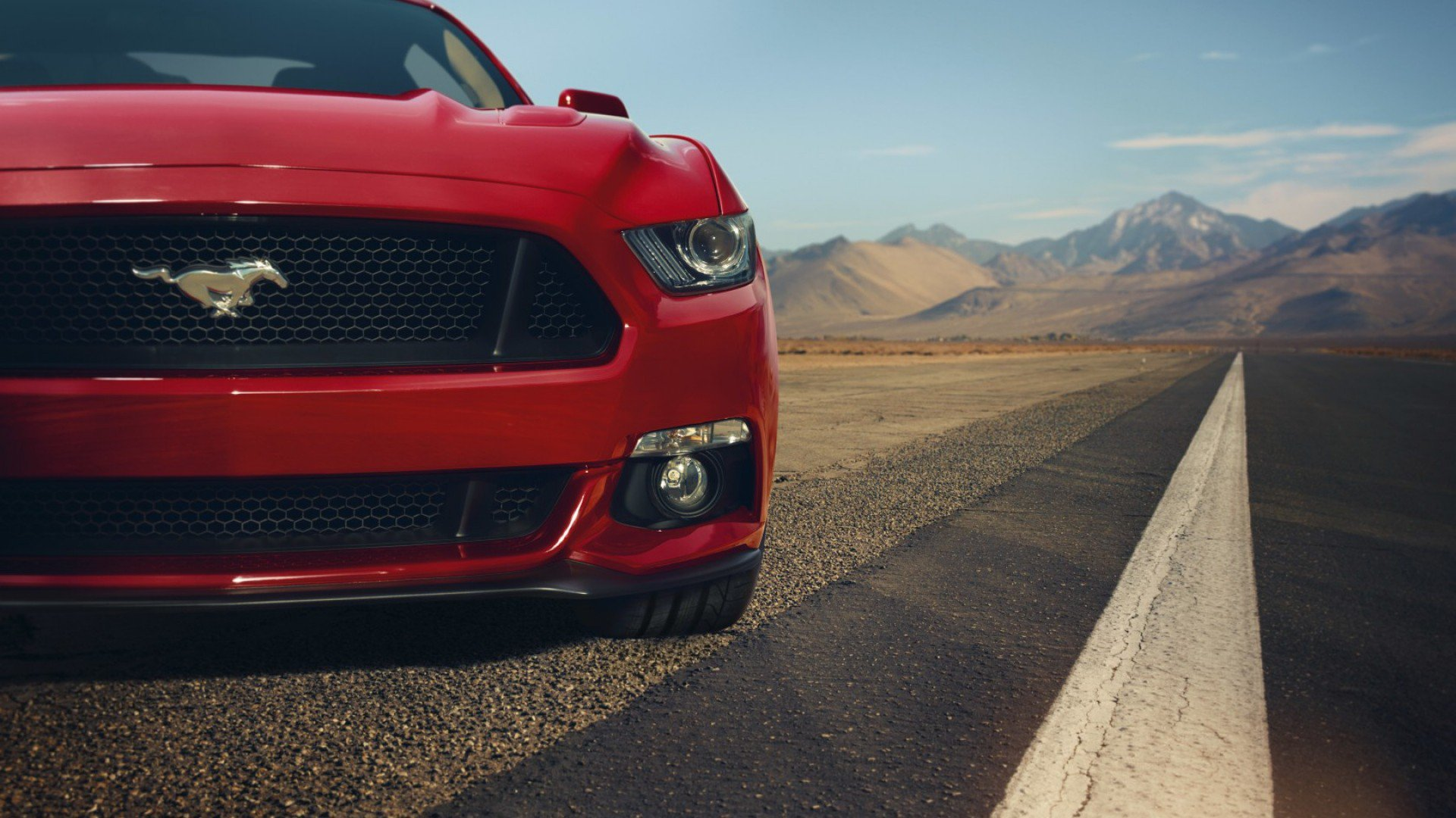 Ford Mustang Gt Red Front Muscle Car Hd Cars 4k Wallpapers Images