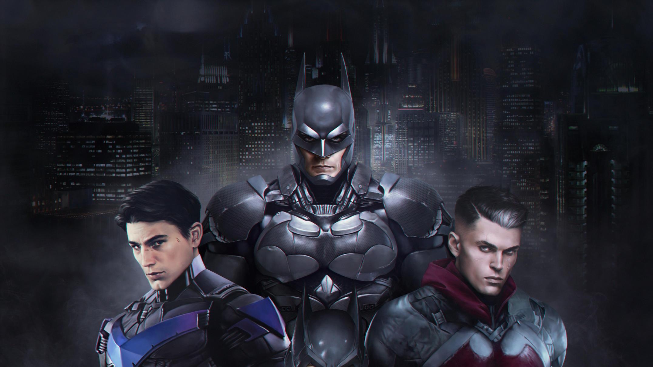 Hd Cute Bat Wallpaper Gothams Bat Family Hd Superheroes 4k Wallpapers Images