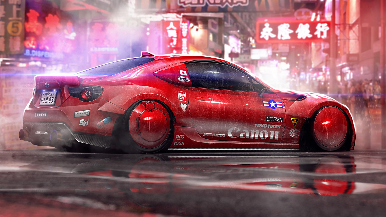 Future Cars 2018 Wallpapers Honkong Cyberpunk Cars Hd Artist 4k Wallpapers Images