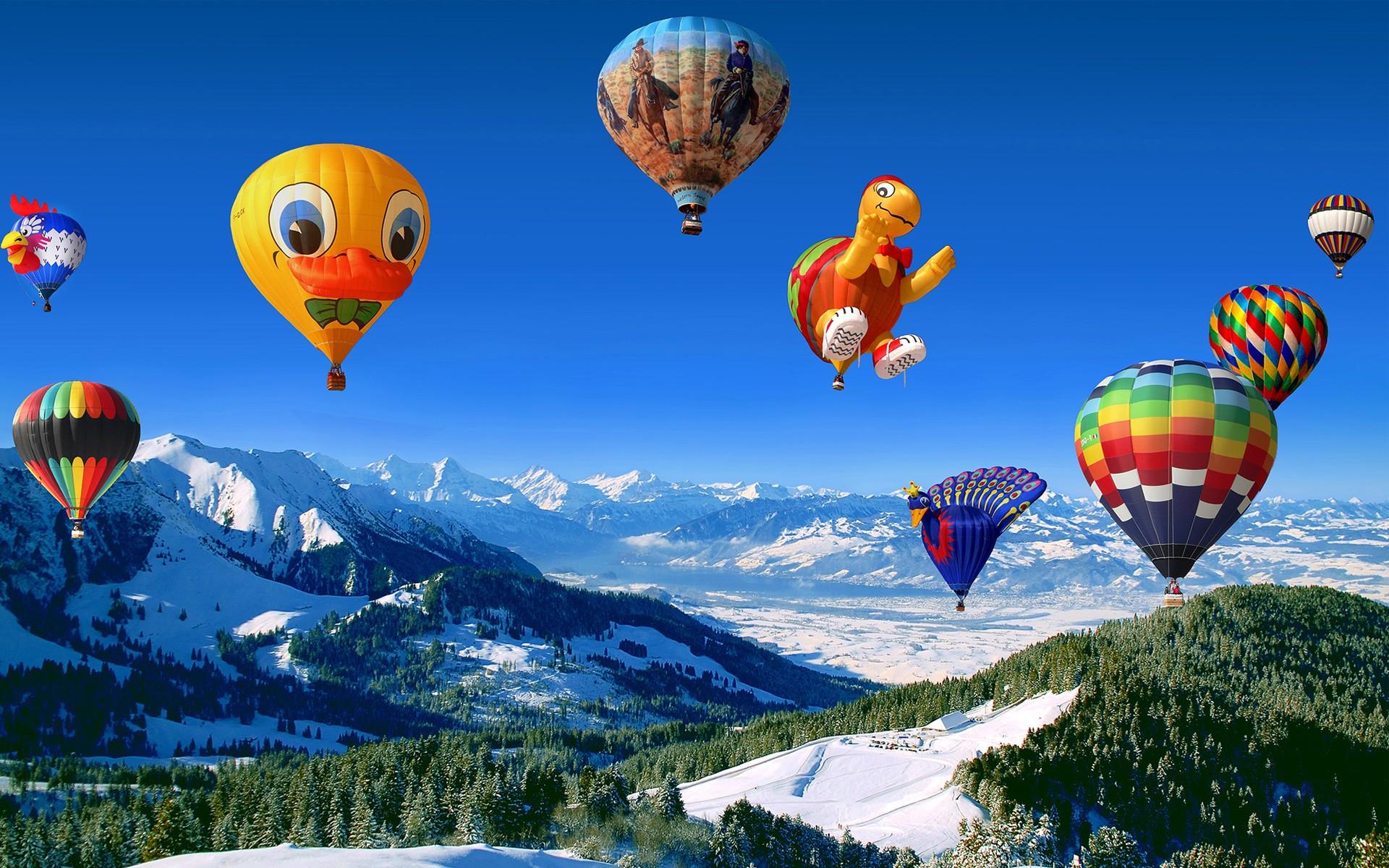 hot air balloon   nature hd 4k wallpapers