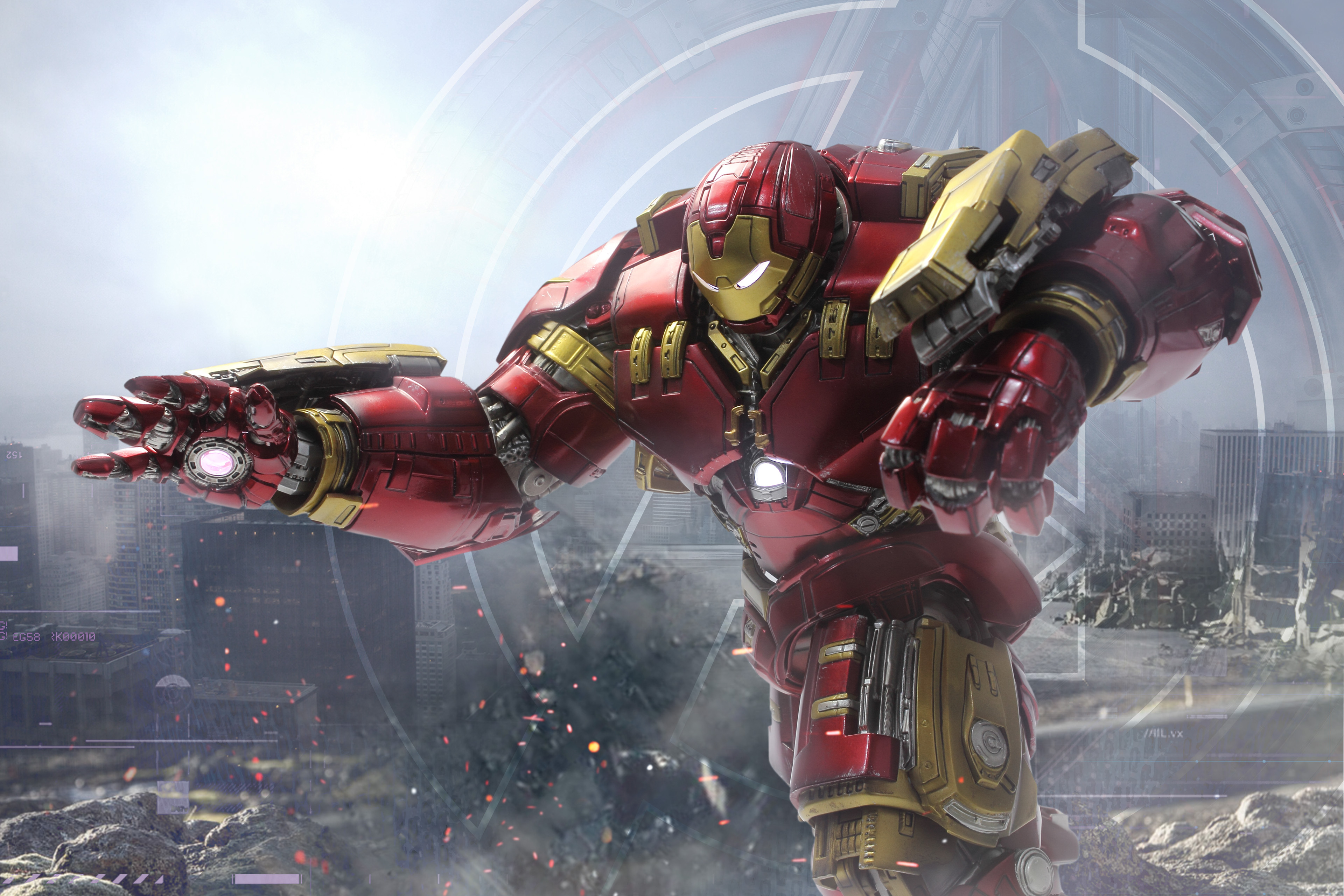 Iron Man 3d Wallpaper For Android Hulkbuster 4k Hd Superheroes 4k Wallpapers Images