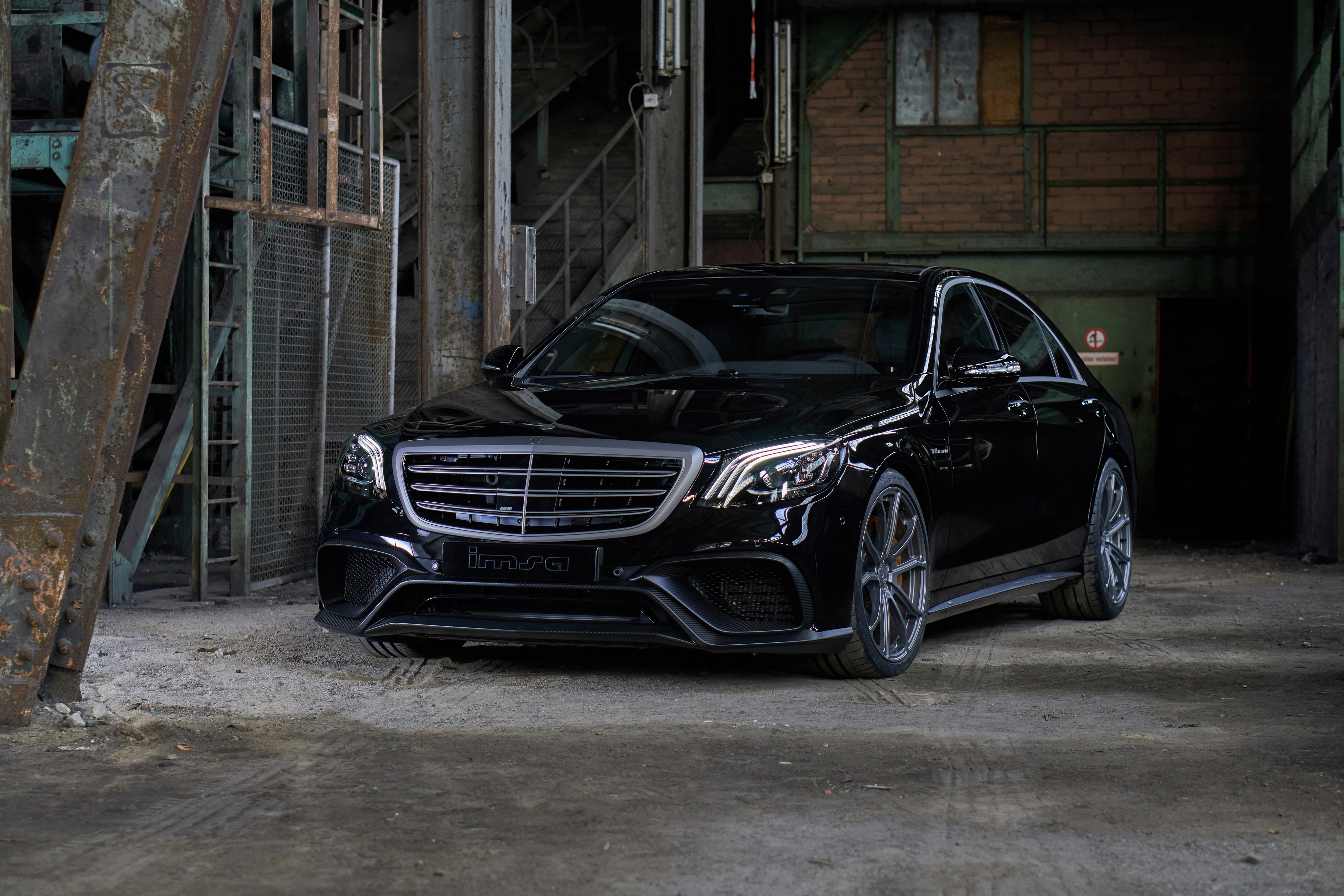 Mercedes Amg W222 S63 On 22 Hre Rs102m Wheels Benztuning