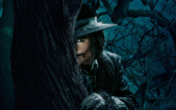 Johnny Depp as Wolf in into the Woods
