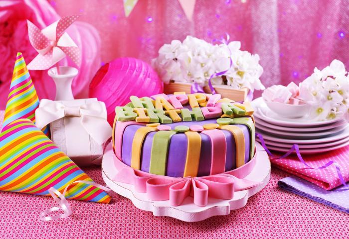 2048x1152 Pink Birthday Cake 2048x1152 Resolution Hd 4k Wallpapers