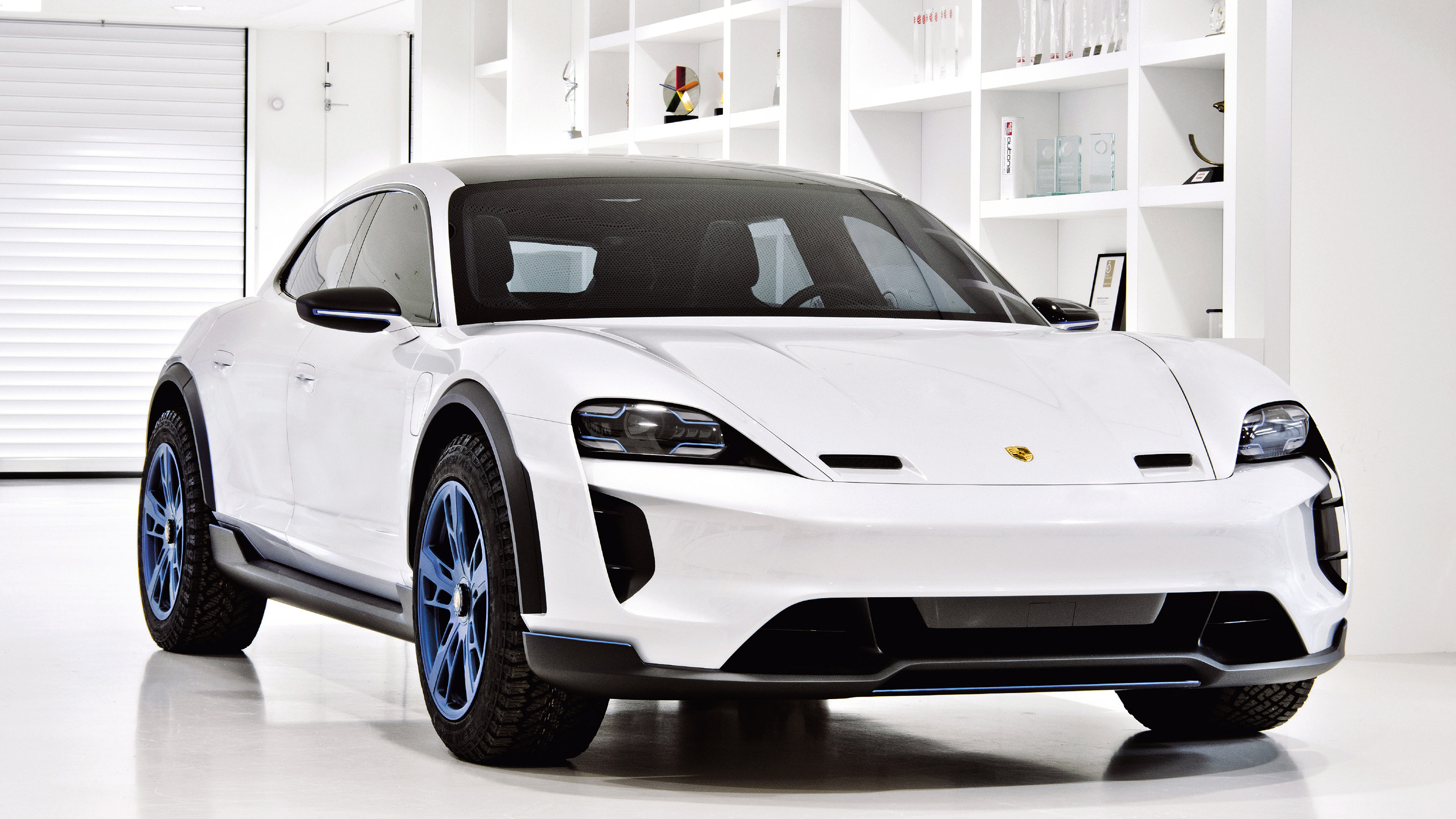Porsche Mission E Cross Turismo 2018 Hd Cars 4k Wallpapers Images