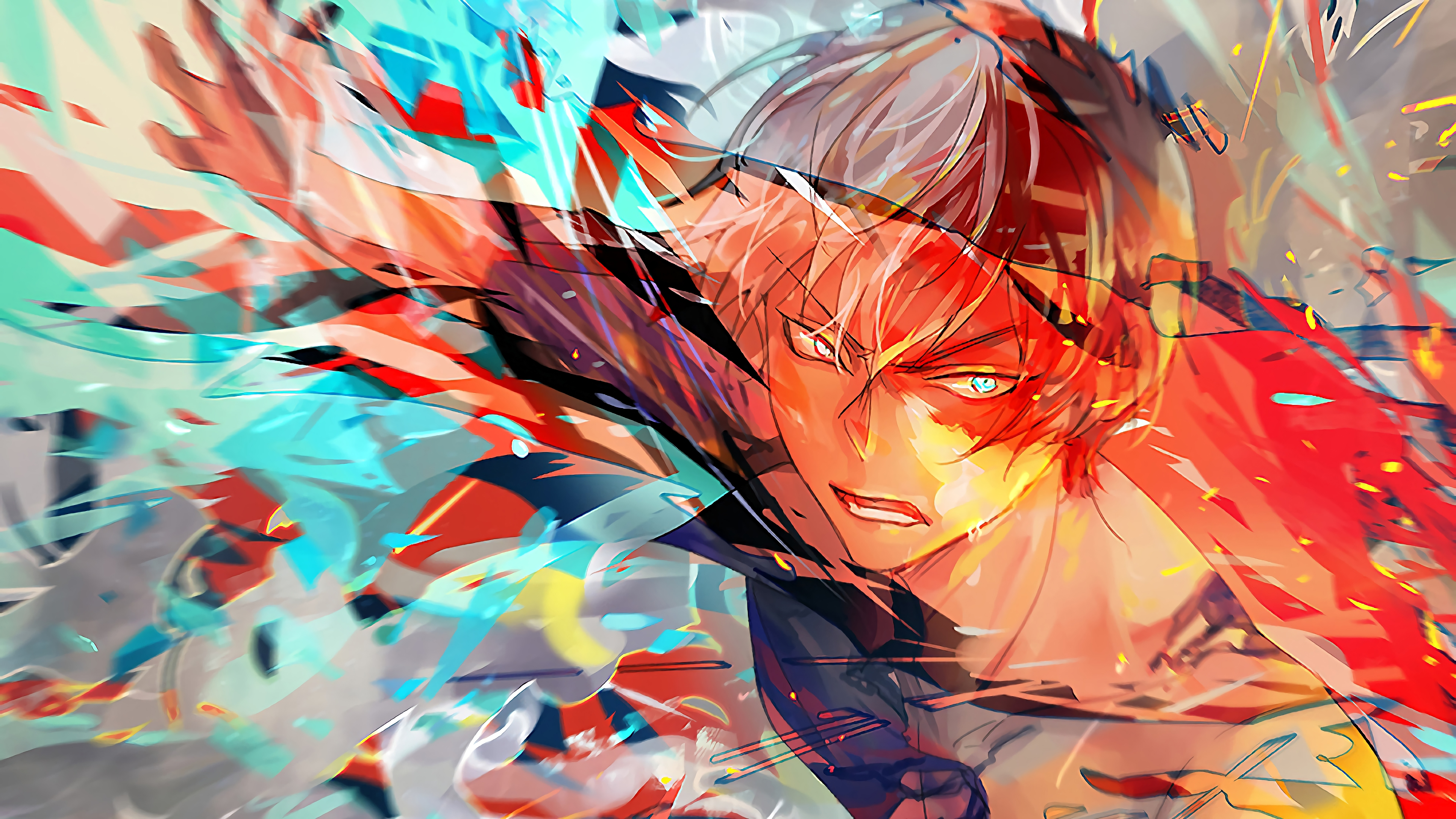 Follow the vibe and change your wallpaper every day! Shoto Todoroki My Hero Academia, HD Anime, 4k Wallpapers ...