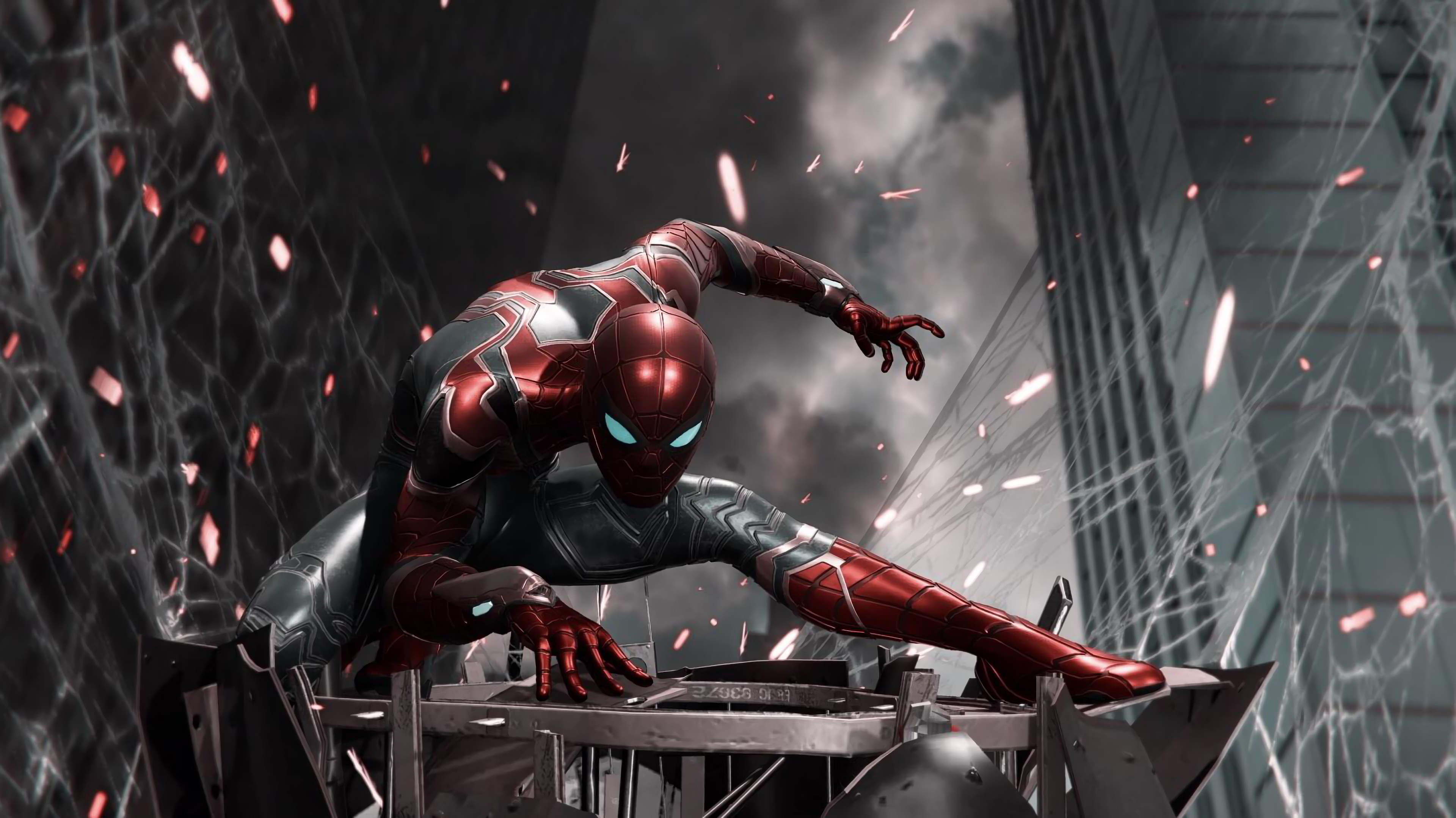Animals In Suits Wallpaper Spiderman Iron Suit Ps4 Hd Games 4k Wallpapers Images