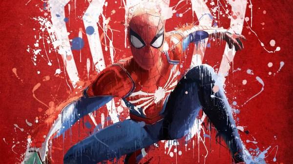 Spiderman Ps4 Art 2018 Hd Games 4k Wallpapers