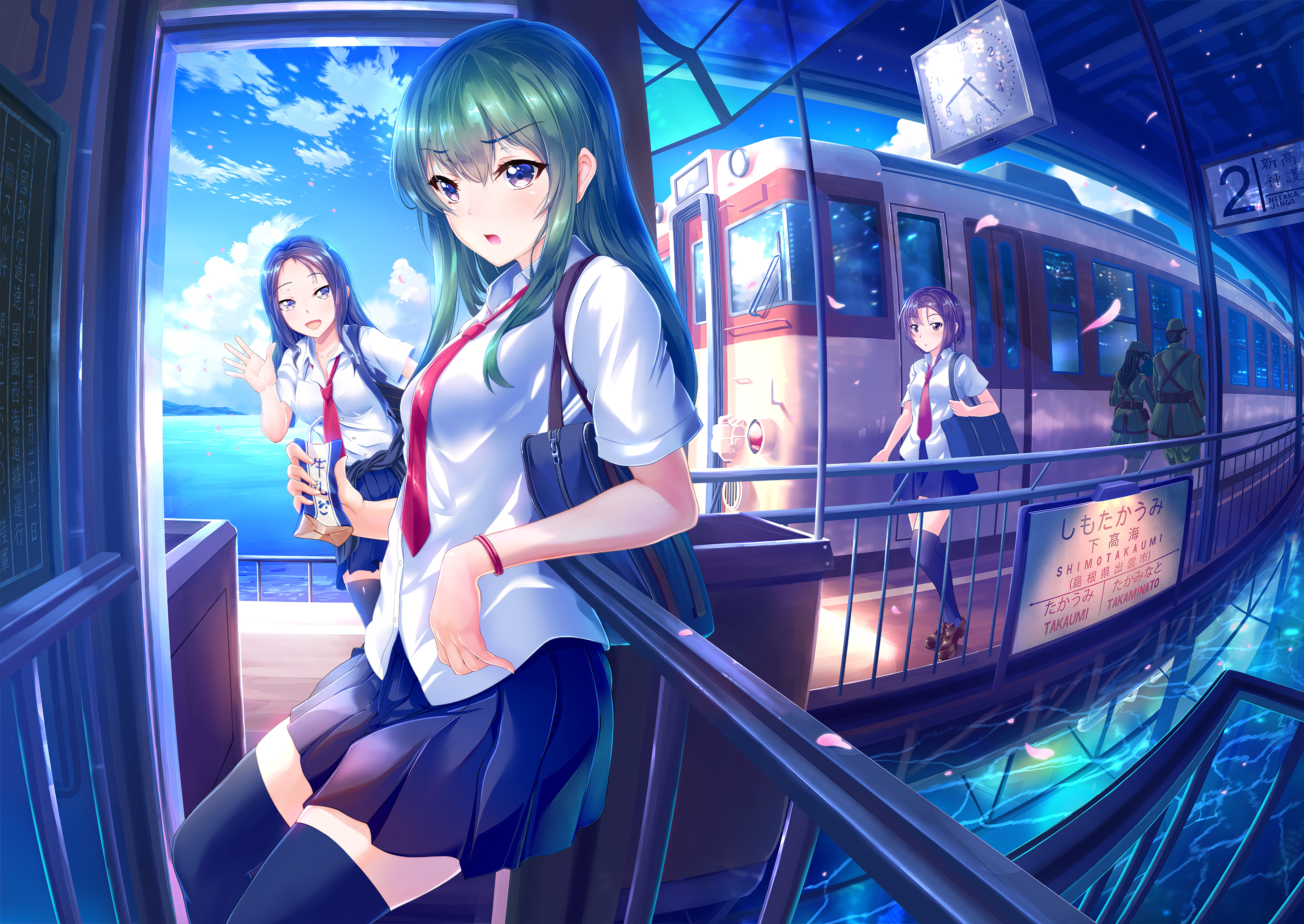 Shop our wide selection of animal wallpaper today. Subway Girls Anime 4k, HD Anime, 4k Wallpapers, Images ...
