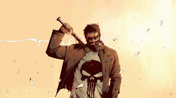 Marvel Punisher Comic Art