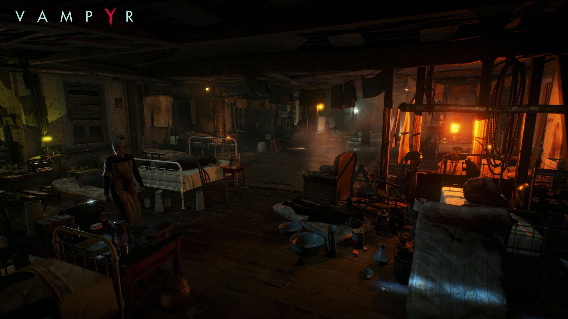 Vampyr 2017 Game HD Games 4k Wallpapers Images