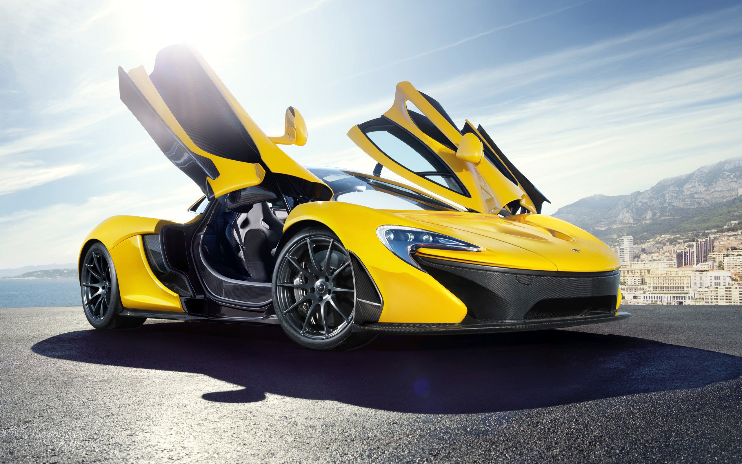 1336x768 Yellow Mclaren P1 Laptop Hd Hd 4k Wallpapers Images