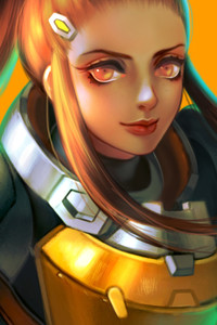 Cute Wallpapers Drawing Overwatch 1080x1920 Resolution Wallpapers Iphone 7 6s 6