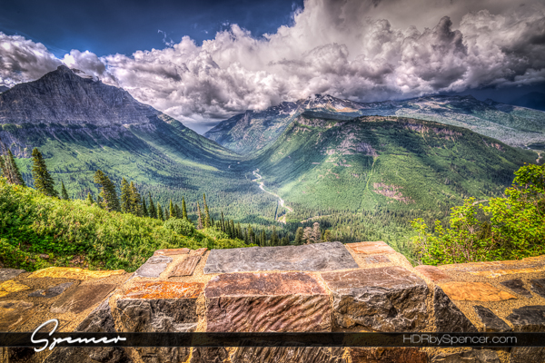 going to the sun road, montana, glacier national park