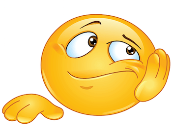This emoji is a great way to tell your chat friends how bored you are