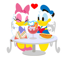 pluto eating minnie's cake