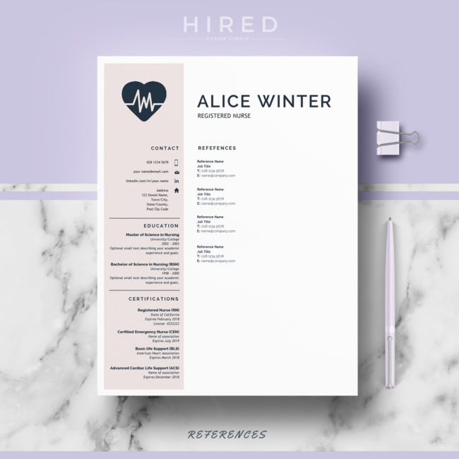resume design template usa jobs